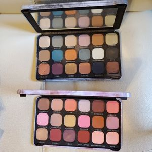 Makeup revolution lot of 2 paletts,